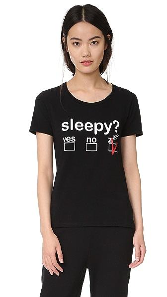 Moschino Футболка Sleepy?