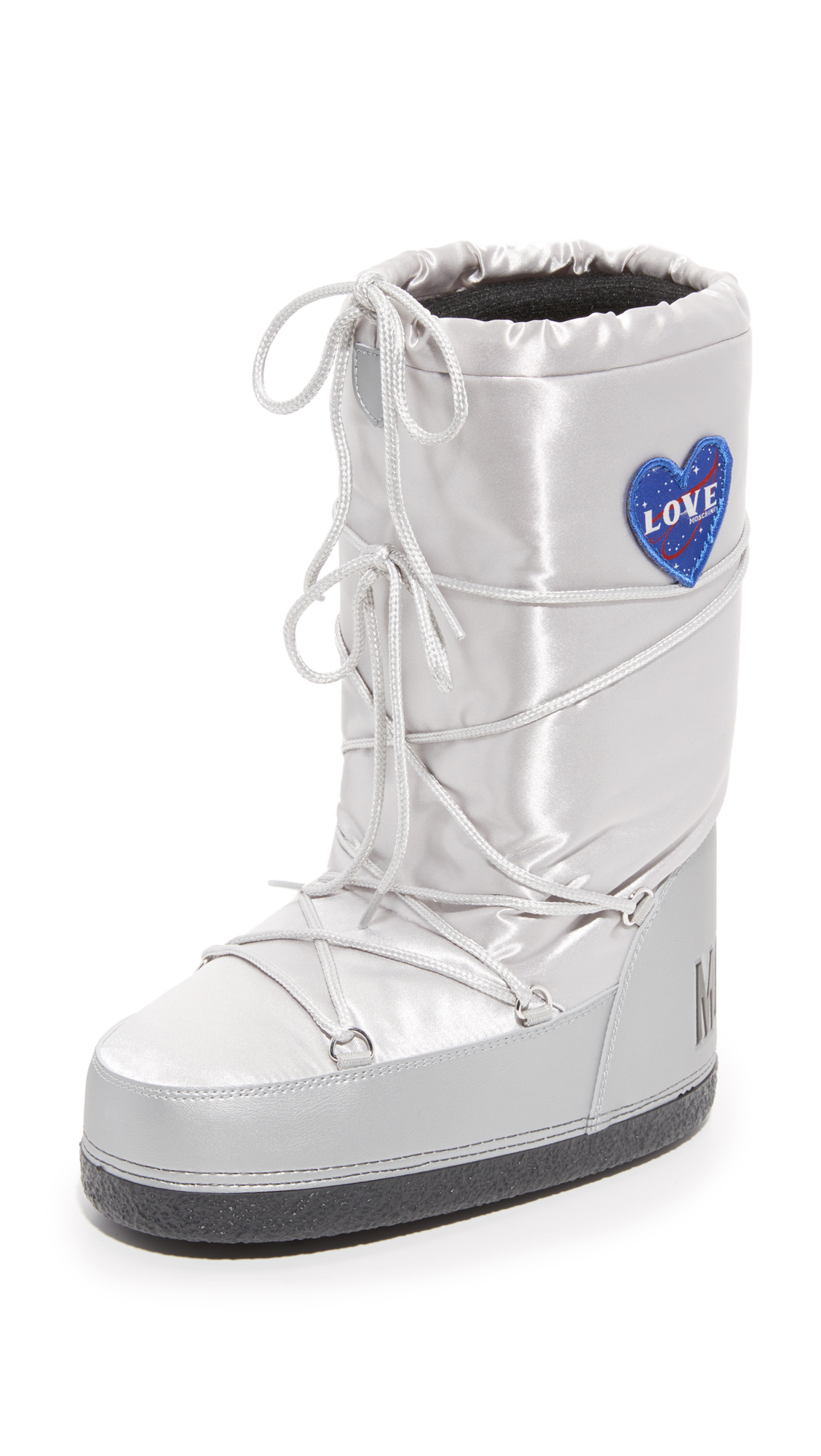 Moschino Moon Boots - Silver