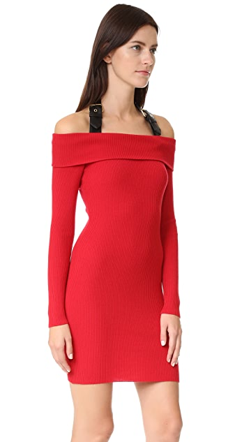 Moschino Off the Shoulder Dress