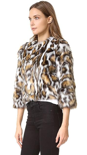 Moschino Faux Fur Jacket