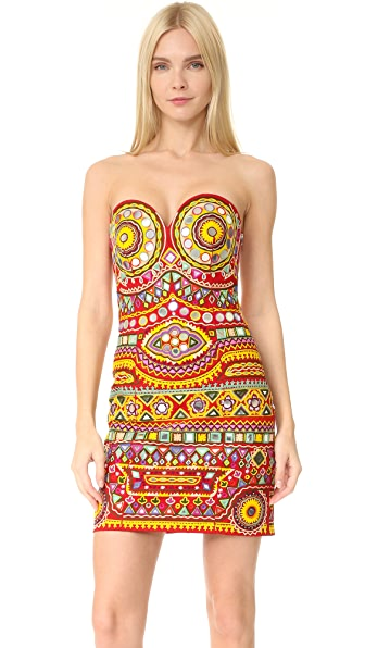 Moschino Strapless Dress online sales