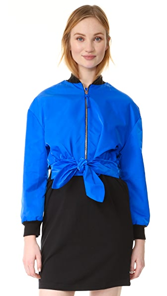 Moschino Jacket with Tie at Shopbop