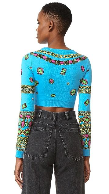 Moschino Cropped Sweater