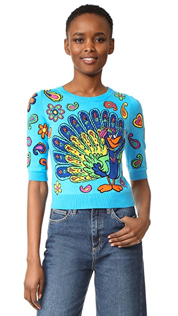 Moschino Short Sleeve Sweater