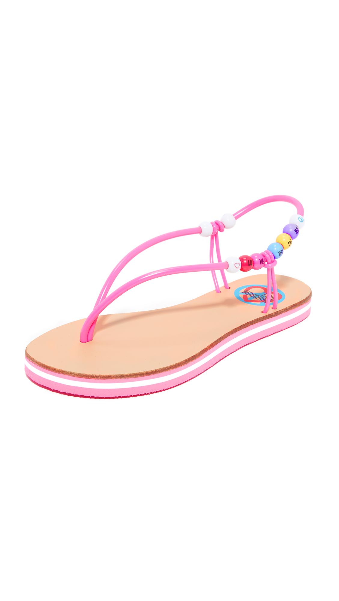 Moschino Love Moschino Sandals - Fuchsia at Shopbop