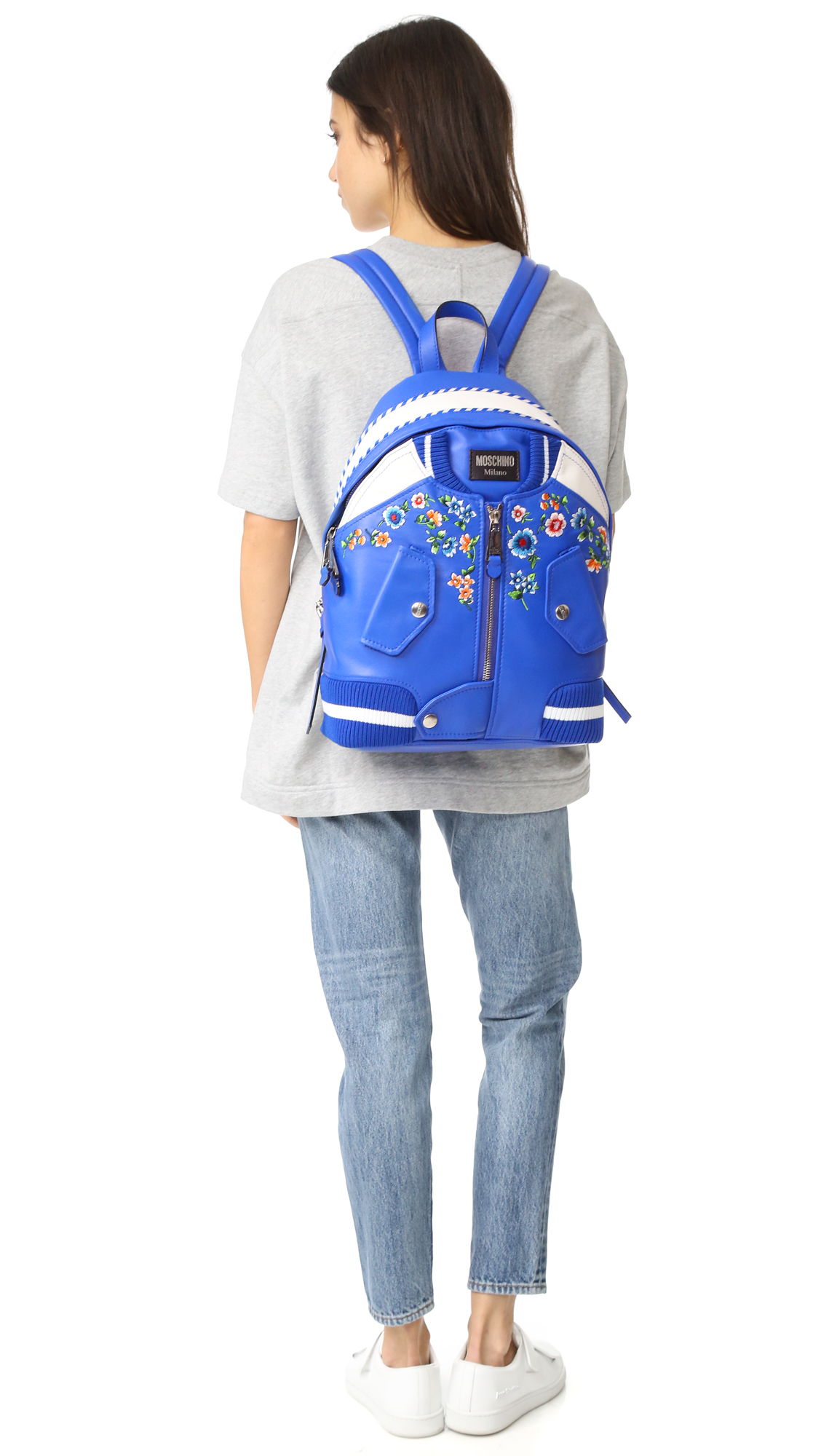 eaedcc510da4 Moschino Bomber Backpack