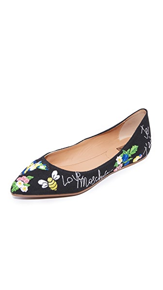 Moschino Love Moschino Ballerina Flats