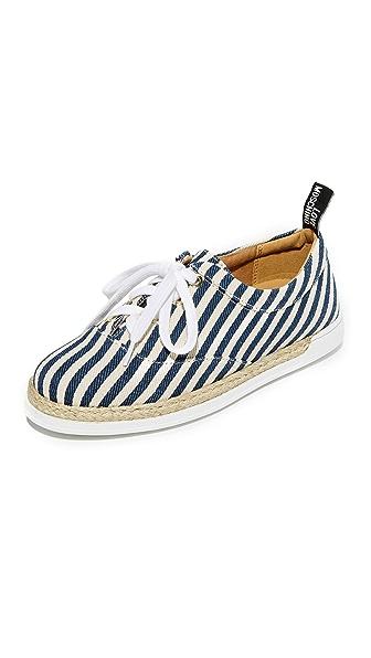 Moschino Love Moschino Espadrilles - Blue Stripes