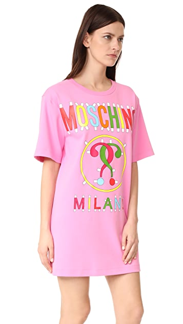 Moschino Short Sleeve Dress