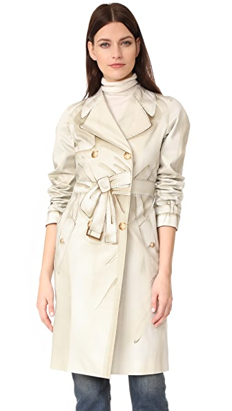 Moschino Long Jacket at Shopbop