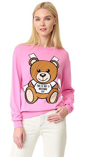 Moschino Not A Toy Sweater at Shopbop