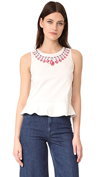 Moschino Sleeveless Blouse at Shopbop