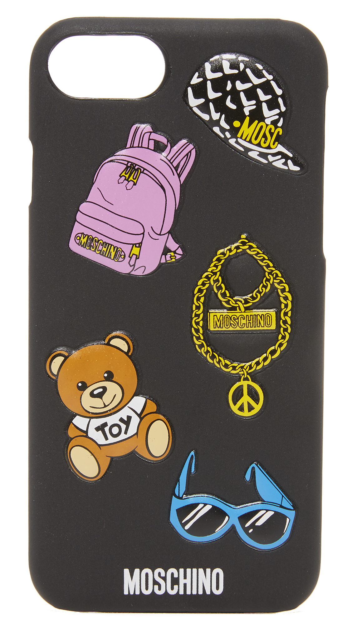 Moschino Iphone Case - Black at Shopbop