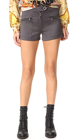 Moschino Trouser Shorts - Army Green