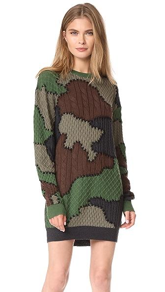 Moschino Camouflage Dress - Camo