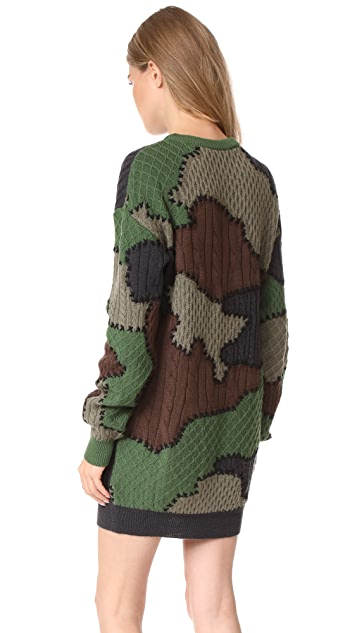 Moschino Camouflage Dress