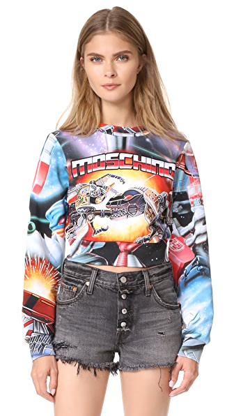 Moschino Transformers Sweatshirt - Multi