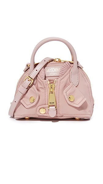 Moschino Shoulder Bag In Light Pink