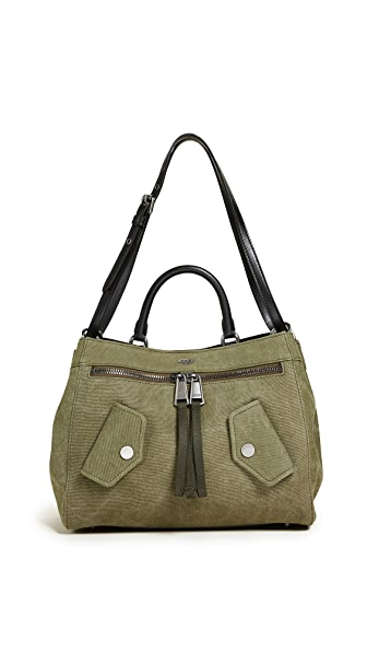 Moschino Shoulder Bag In Green/Black