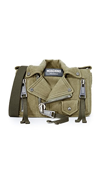 Moschino Shoulder Bag - Green/Black