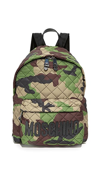 Moschino Backpack - Camo/Black