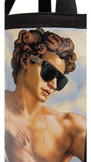 Moschino Fresco Print Tote
