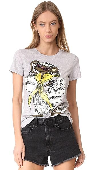 Moschino Printed T Shirt