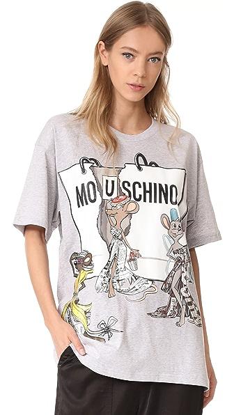 Moschino Oversize T Shirt