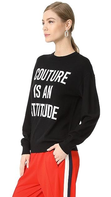 Moschino Intarsia Sweater