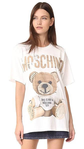 Moschino Oversize Bear Shirt