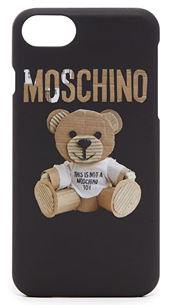 Moschino IPhone 7 Case - Black