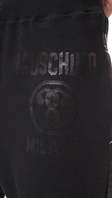Moschino Drawstring Sweatpants