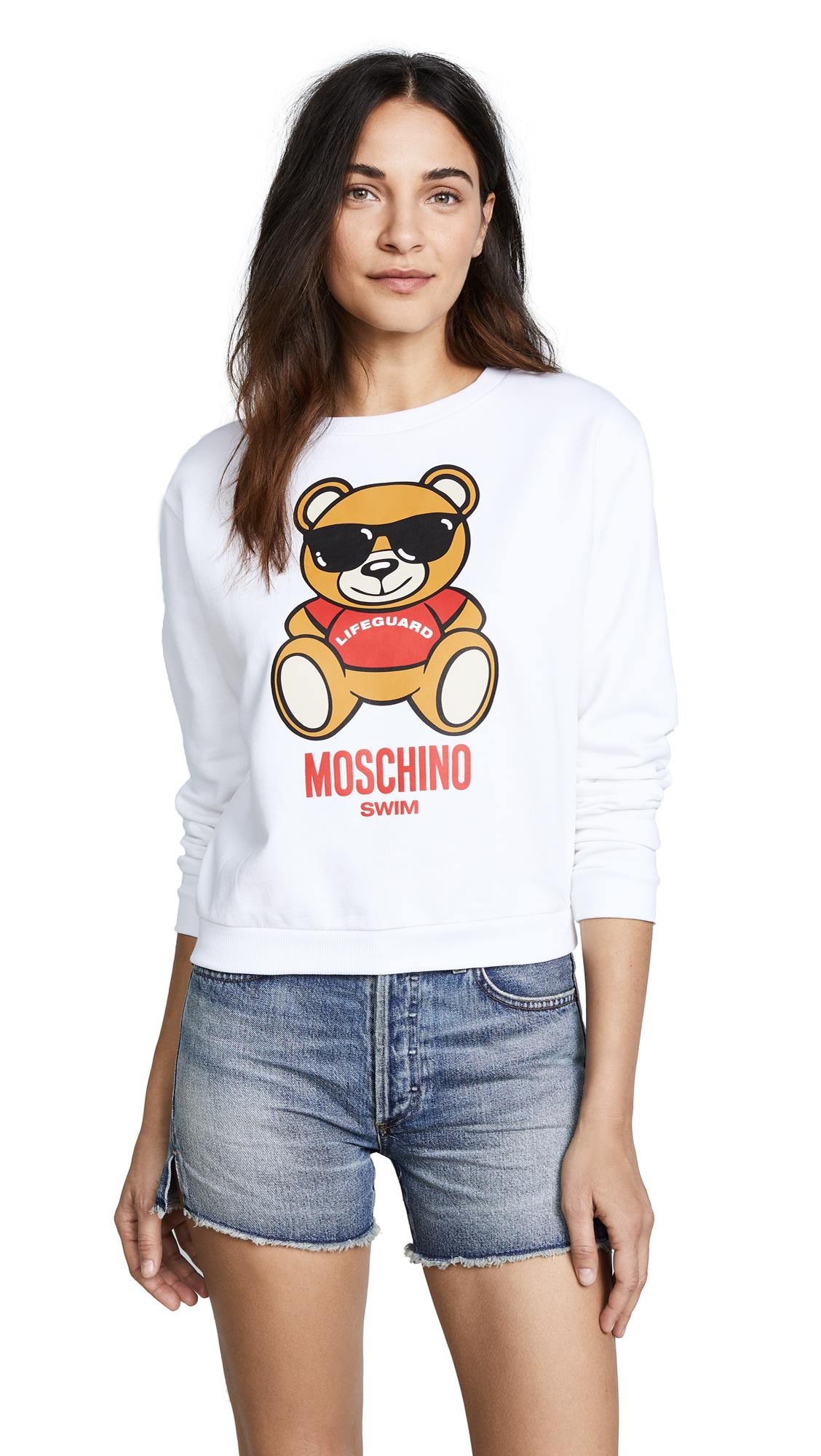 Moschino Bear Graphic Sweater