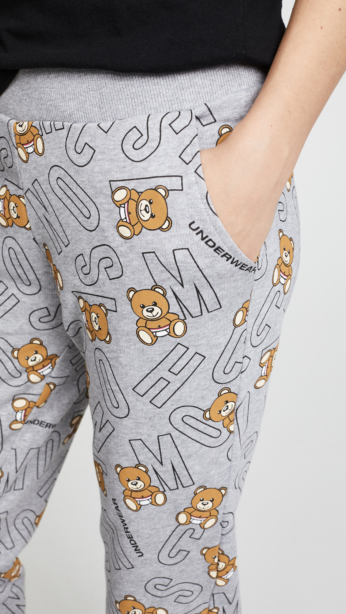 e7dc53fea18bc5 Moschino Moschino Intimates Lettering Pajama Pants