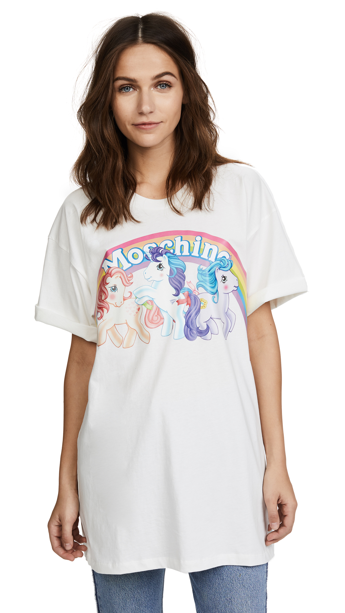 Moschino My Little Pony Rainbow Tee - White