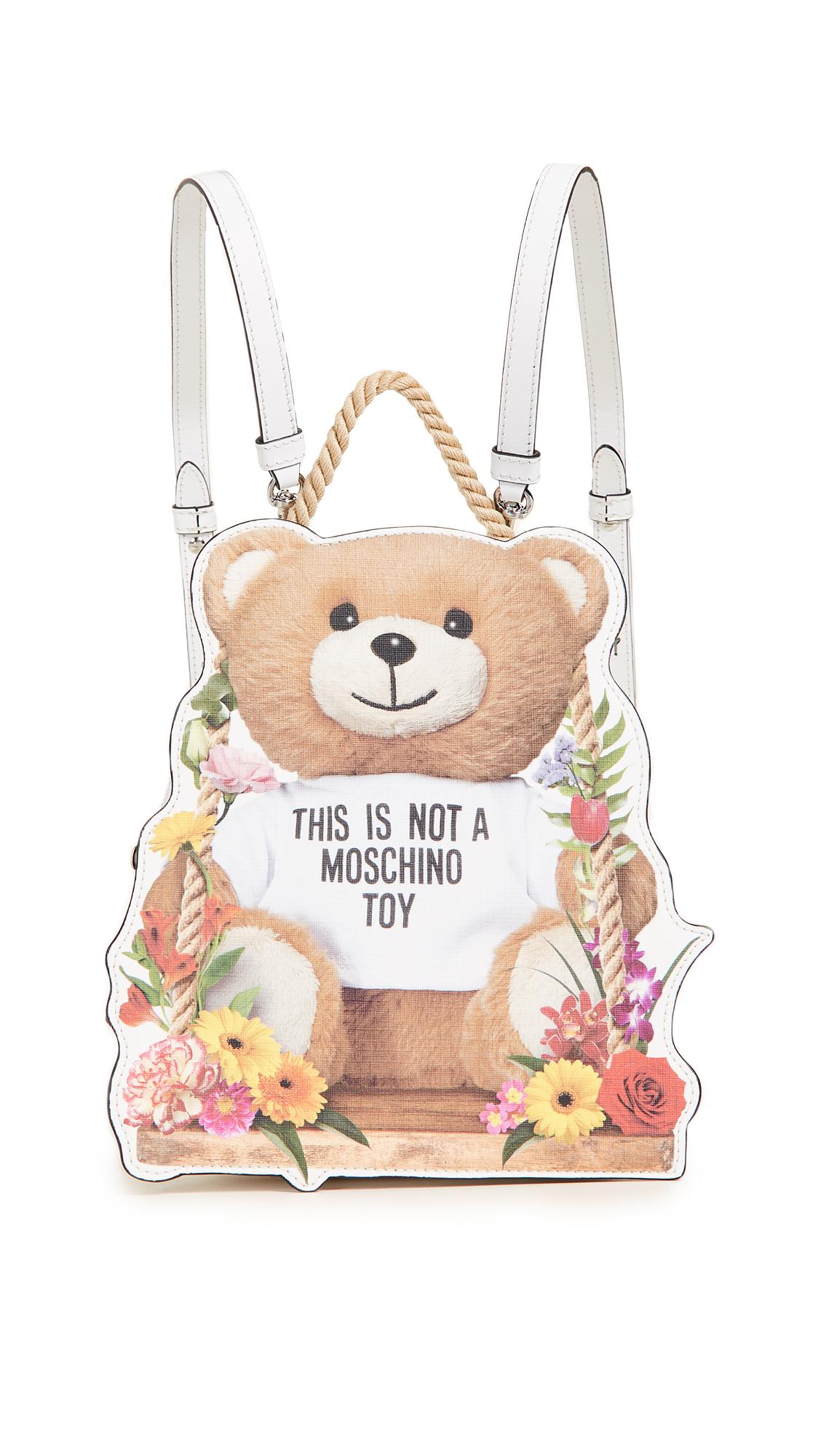 Moschino Moschino Bear Mini Backpack