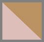 розовый/коричневый с плавными переходами цвета