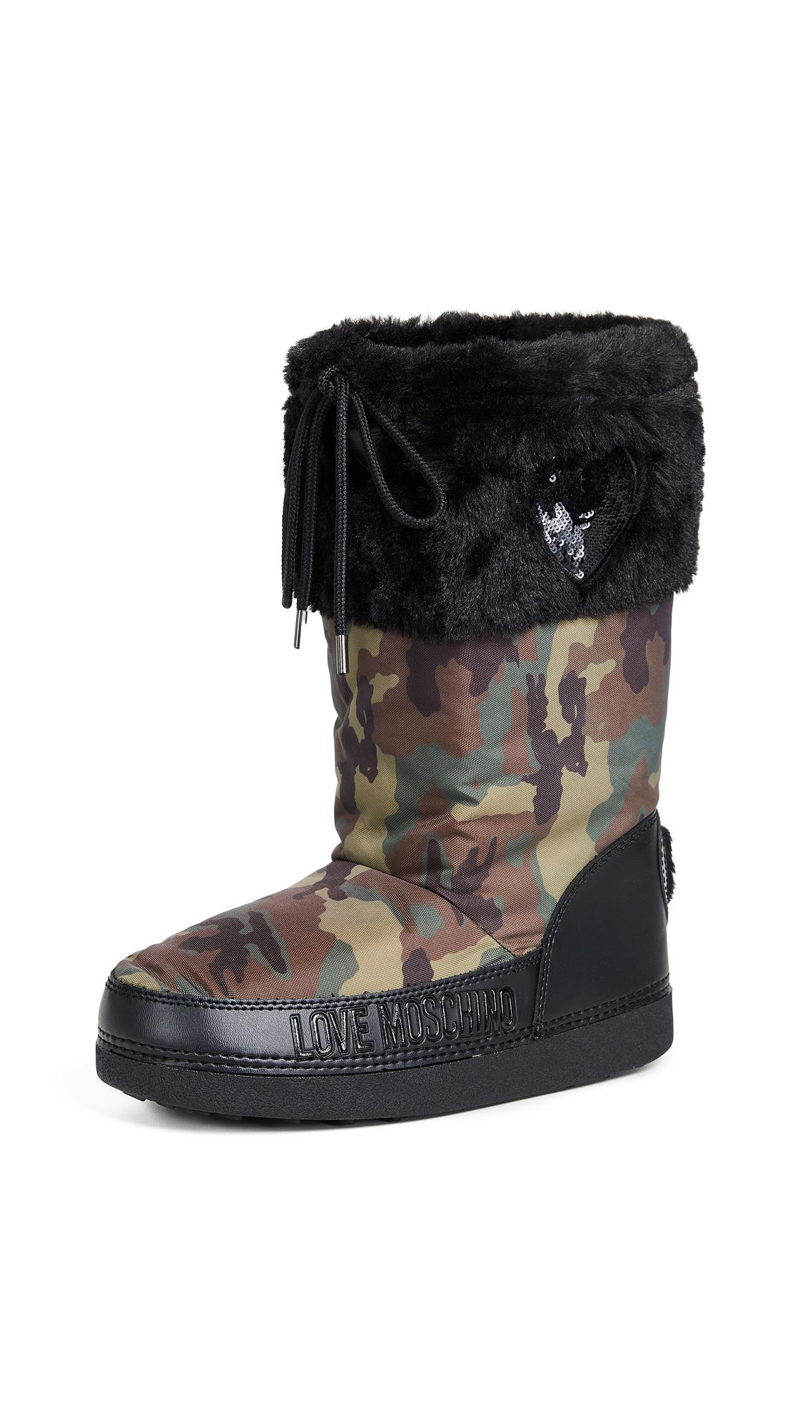 Moschino Love Moschino Snow Boots - Camo