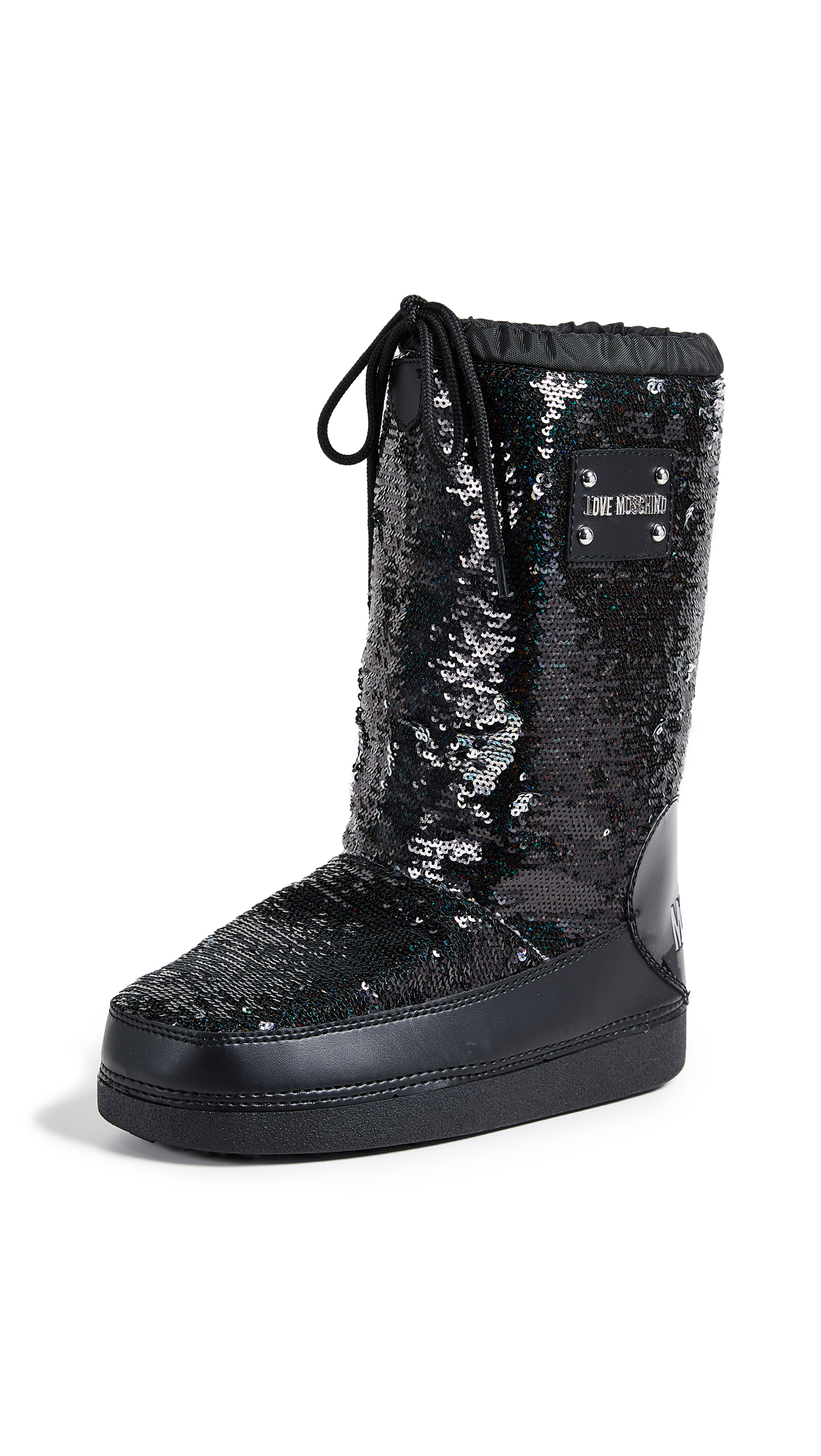 Moschino Love Moschino Sequin Snow Boots