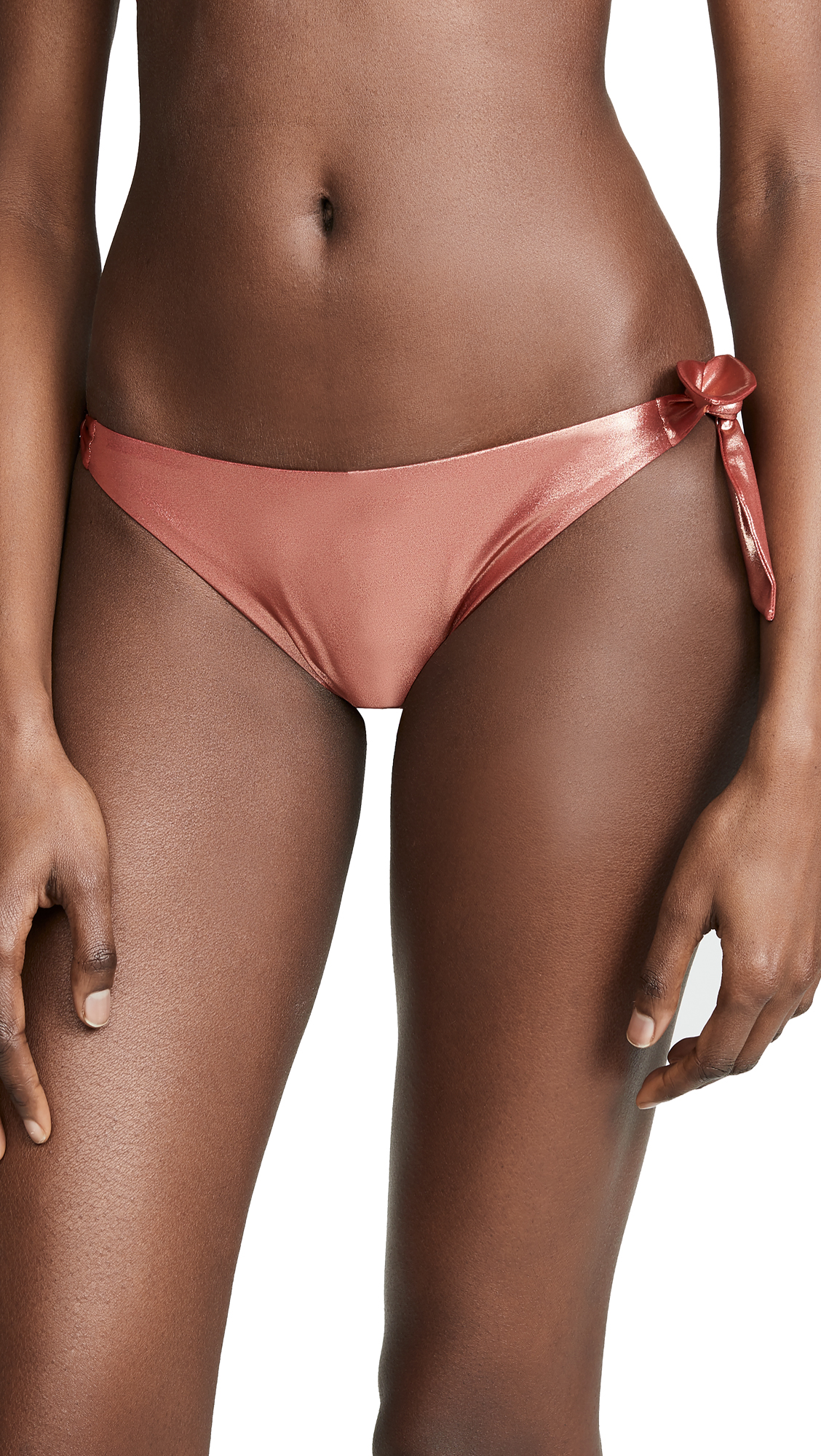 Moschino Tie Side Bottoms - Pink Gold