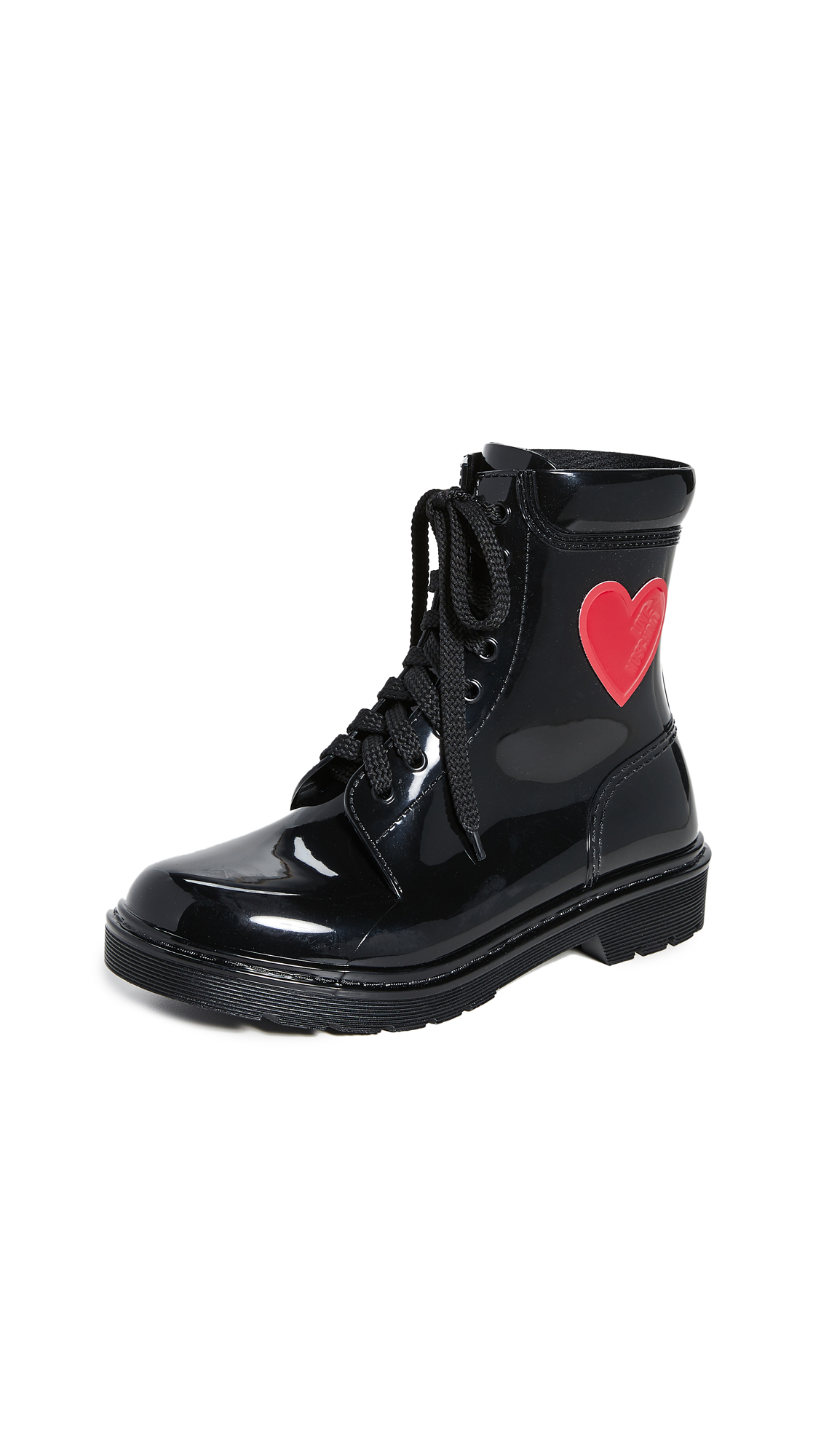 Buy Moschino online - photo of Moschino Heart Boots