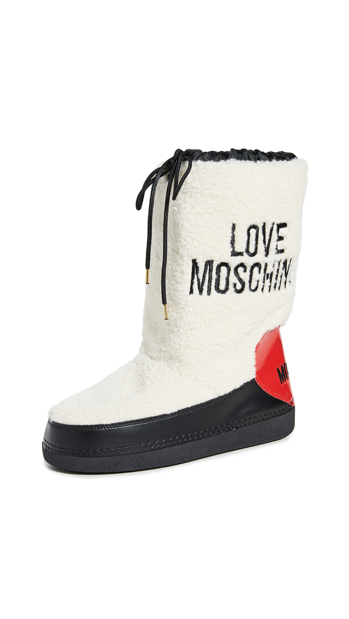 Buy Moschino online - photo of Moschino Shearling Snow Boots