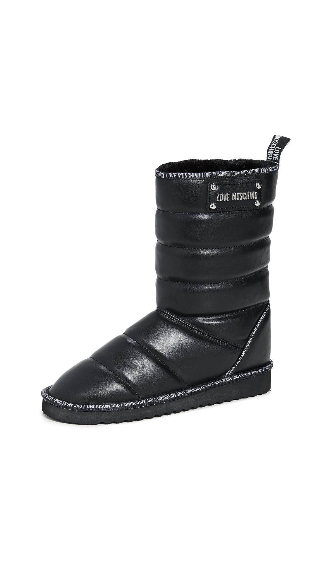 Buy Moschino online - photo of Moschino Quilted Boots