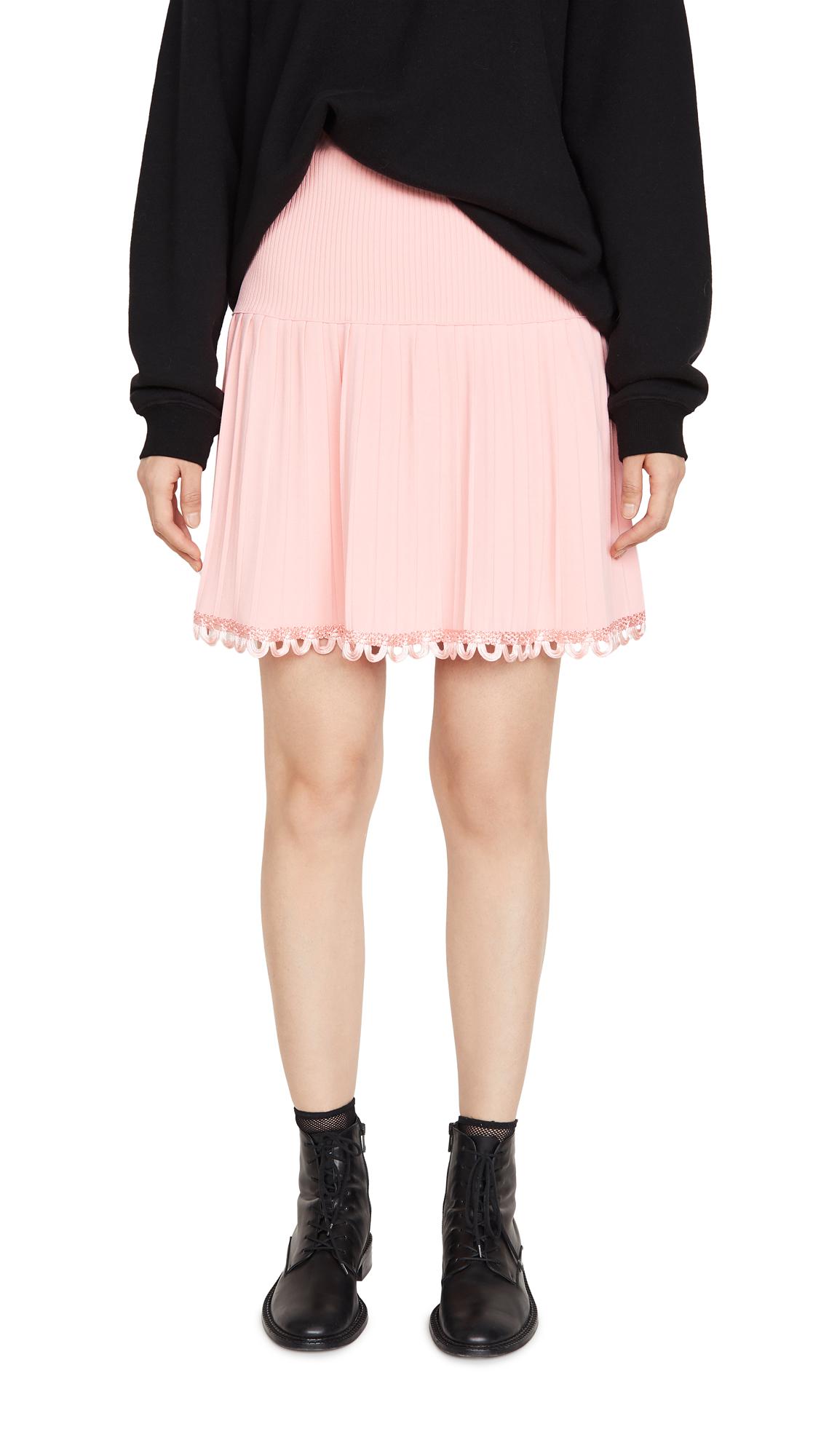 Buy Moschino online - photo of Moschino Pleated Miniskirt