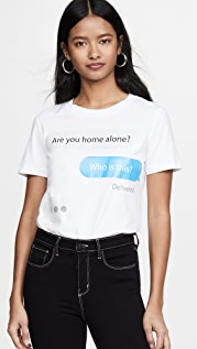 Moschino 文字 T 恤