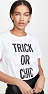 Moschino Trick or Chic T 恤