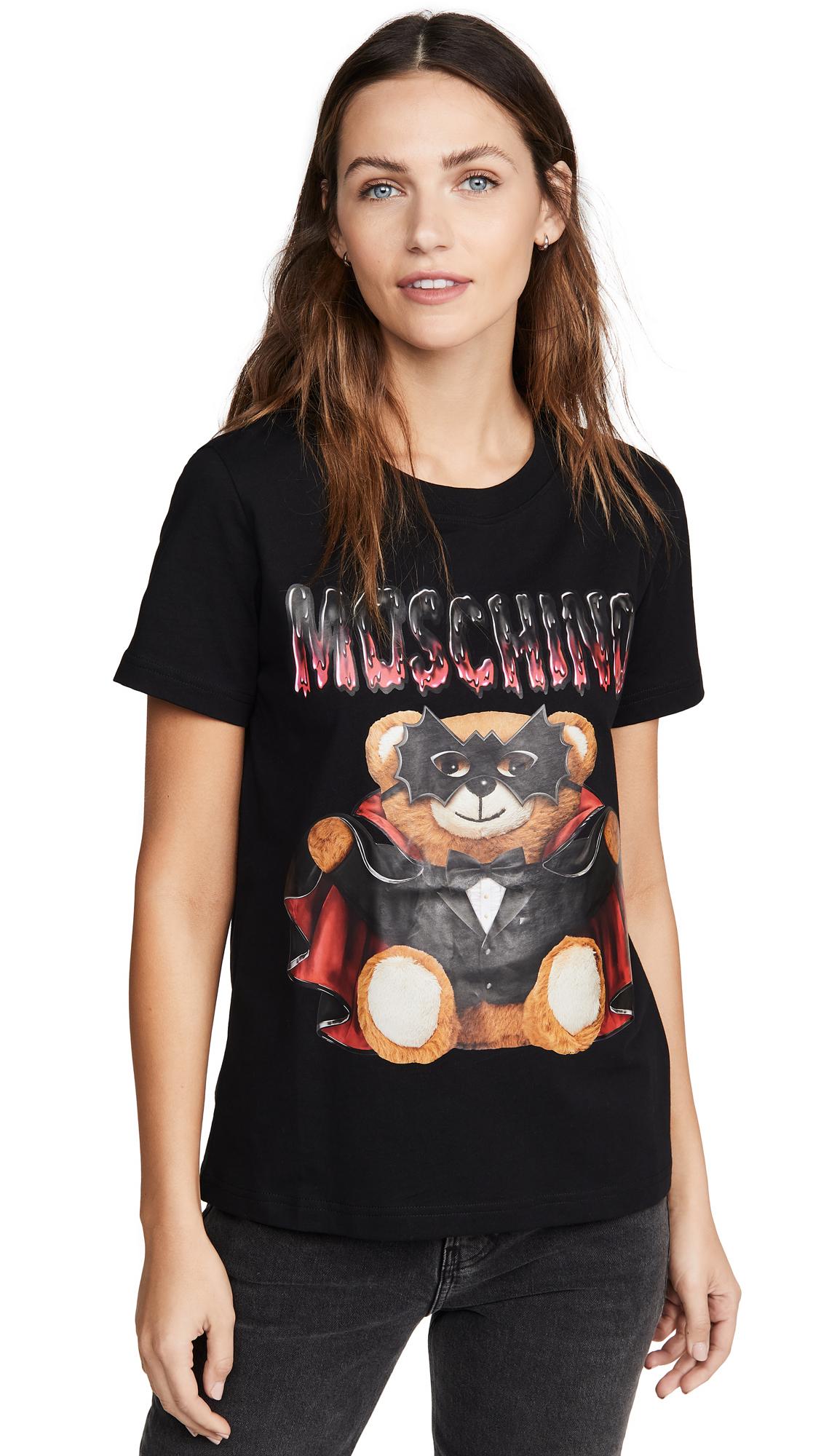 Buy Moschino online - photo of Moschino Mask Bear T-Shirt