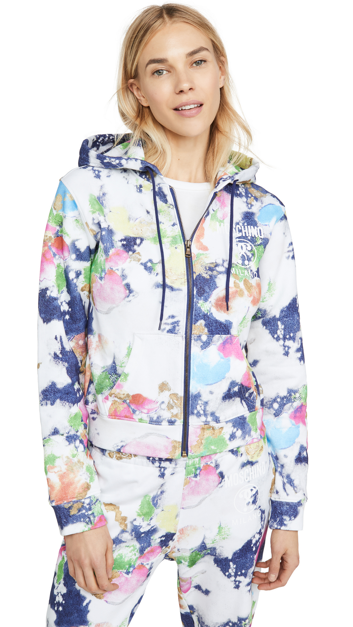 Moschino Tie Dye Hoodie – 50% Off Sale
