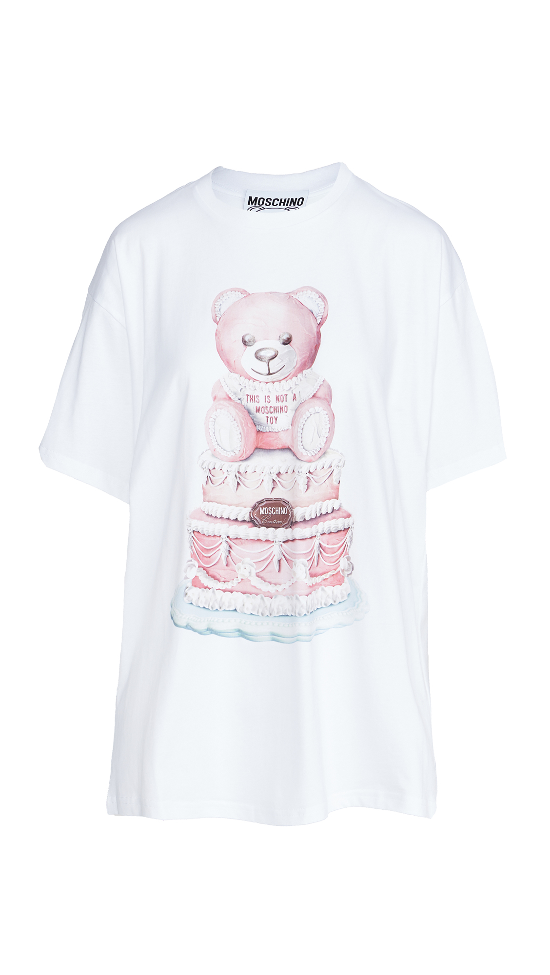 MOSCHINO BEAR CAKE TEE