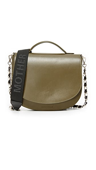 Mother of Pearl Saddle Bag
